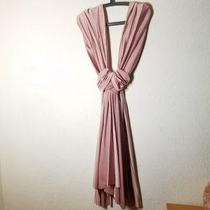 Dresses & Skirts - Pink versatile wrap dress